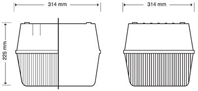 Luminario Industrial Light Box