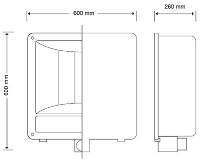 REFLECTOR AGUILA 1500 SODIO 1000 WATTS