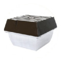 Luminaria Industrial Prisma Box HID Super Sodio PIA 150 watts