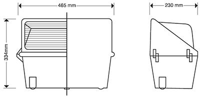 REFLECTOR WALLPACK 400 ADITIVO METÁLICO 400 WATTS